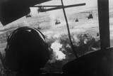 Bell Uh-1 Huey Squadron Firing on Vietcong