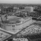 Aerial View of Yankee Stadium