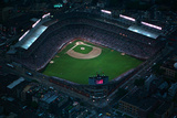 Wrigley Field from Overhead