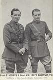 Lieutenants Frederick Sowrey and William Leefe Robinson