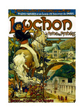 Poster for Trains to Luchon  France  1895