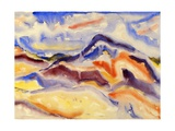 Abstract Landscape  1915