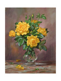 Radiant Yellow Roses