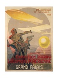 Poster for First International Exhibition of Aerial Locomotion