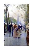 5th Avenue  Sunday  1890-91