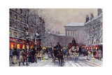 A Parisian Winter Scene