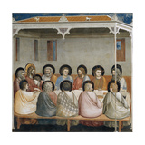 The Last Supper  Detail from Life and Passion of Christ  1303-1305