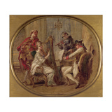 Concert with Four Figures  C1774