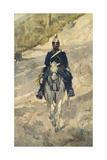 Soldier on Horseback  1870