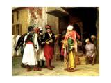 Old Clothes Merchant  Cairo  1866