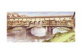 The Ponte Vecchio as it Was in the 1970S