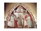 Disputation of St Stephen  Scene from Stories of St Stephen  1435-1440