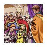 The Marriage of Wandrille  Later Saint Wandrille