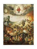 Last Judgment  Circa 1554