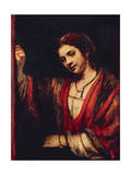 Portrait Depicting Hendrickje Stoffels