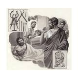 Galen the Physician Risks His Life Telling a Roman Emperor He Has Been Over-Eating