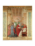 Pope Sixtus IV Installs Bartolommeo Platina as Director of the Vatican Library  C 1477