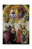 Coronation of Virgin  1480