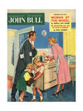 Front Cover of 'John Bull'  January 1957