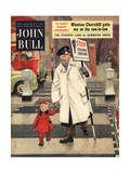 Front Cover of 'John Bull'  March 1954