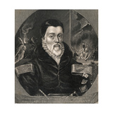 Portrait of Scholar William Tyndale