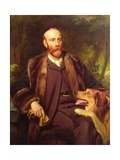 Portrait of Walter Percy Sladen  English Naturalist