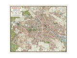 Map of Berlin  1902