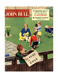 Front Cover of 'John Bull'  March 1957