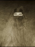 Woman Wearing a Burqa  Early 20th Century