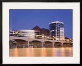 Town Lake and Mill Avenue Bridge  Tempe  Greater Phoenix Area  Arizona