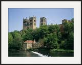 Durham Cathedral  Unesco World Heritage Site  Durham  County Durham  England  United Kingdom