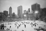 USA  New York  New York City  Skaters at the Wollman Rink