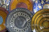 France  Aix-En-Provence Ceramic Plates  Cours Mirabeau Market