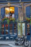 Historic La Perouse Restaurant in Saint Germain Des Pres  Paris France