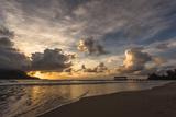 Sunset in Hanalei Bay  Kauai