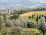 Italy  Tuscany Santa Maria Novella Monastery Near Radda in Chianti