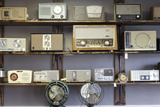 Display of Antique Radios  Las Vegas  Nevada Usa