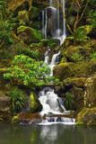 Heavenly Falls  Portland Japanese Garden  Portland  Oregon  Usa
