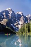 Canada  Alberta  Moraine Lake at Banff National Park
