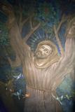 Mural in St Nicholas Croatian Catholic Church  Millvale  Pa  Usa
