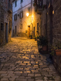 Italy, Tuscany. Montefioralle Near the Town of Greve in Chianti Papier Photo par Julie Eggers