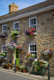 Entrance to Smugglers Bed and Breakfast in Marazion  Cornwall  England