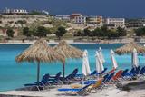 Albania  Albanian Riviera  Ksamil  Town Beachfront