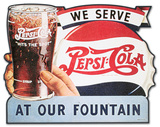 Pepsi Cola Served Here