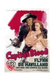 Captain Blood - Movie Poster Reproduction