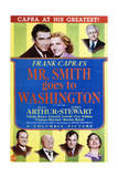 Mr Smith Goes to Washington - Movie Poster Reproduction