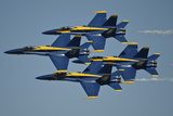 The US Navy Flight Demonstration Squadron  the Blue Angels