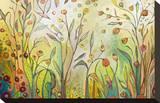 Bienvenue dans mon jardin Tableau sur toile par Jennifer Lommers