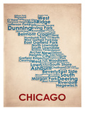 Chicago Reproduction d'art