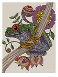 Phileus Frog Reproduction d'art par Valentina Ramos